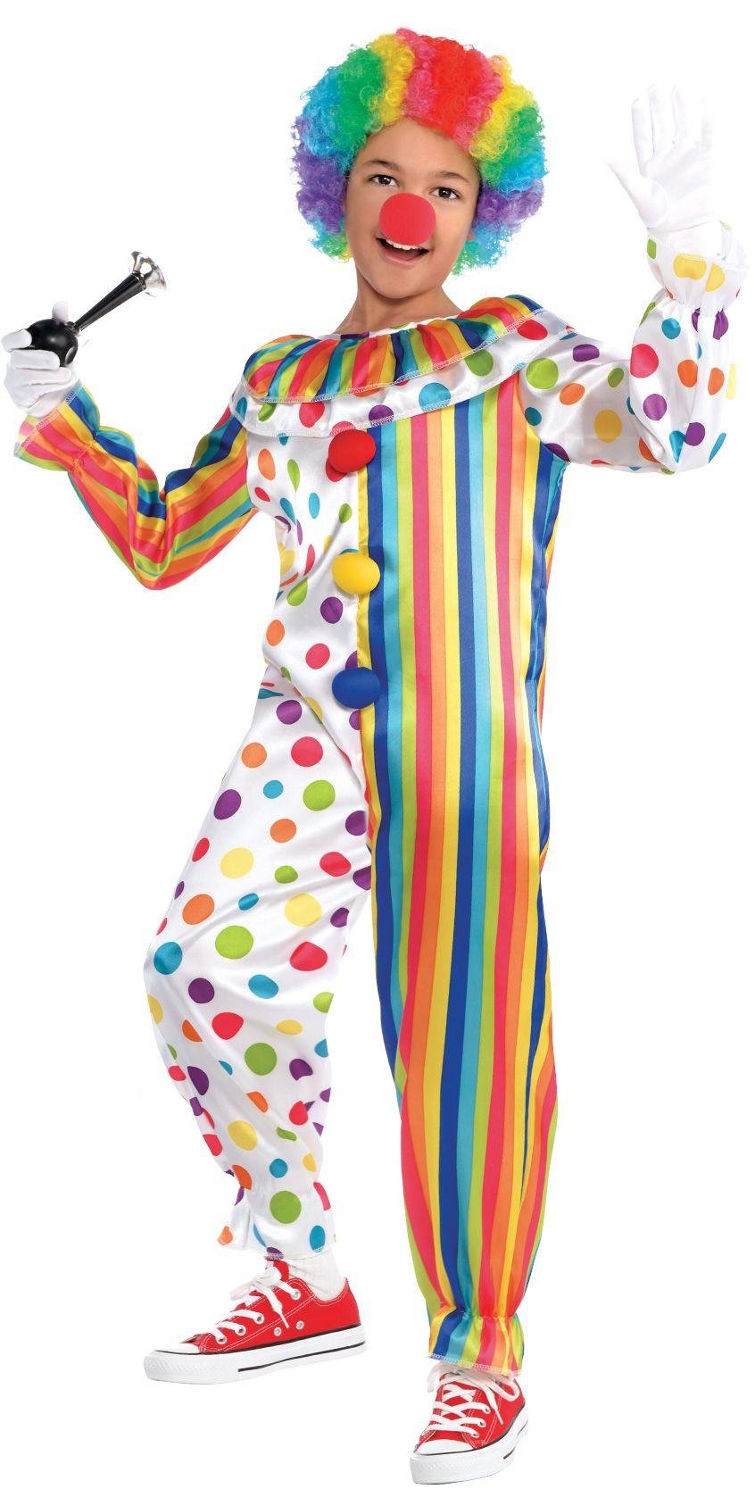 Create Your Look - Boy Funny Clown