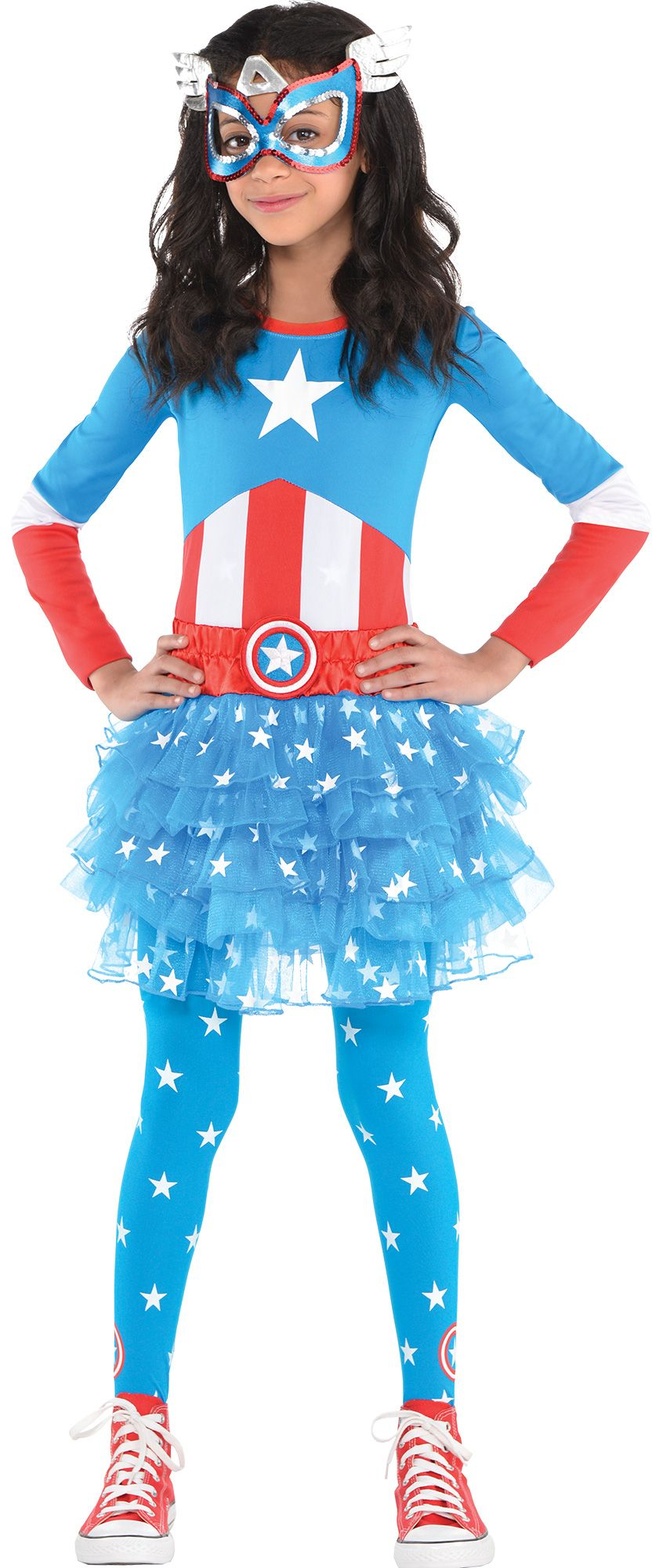 Create Your Own Girls\' American Dream Costume Accessories | Party City