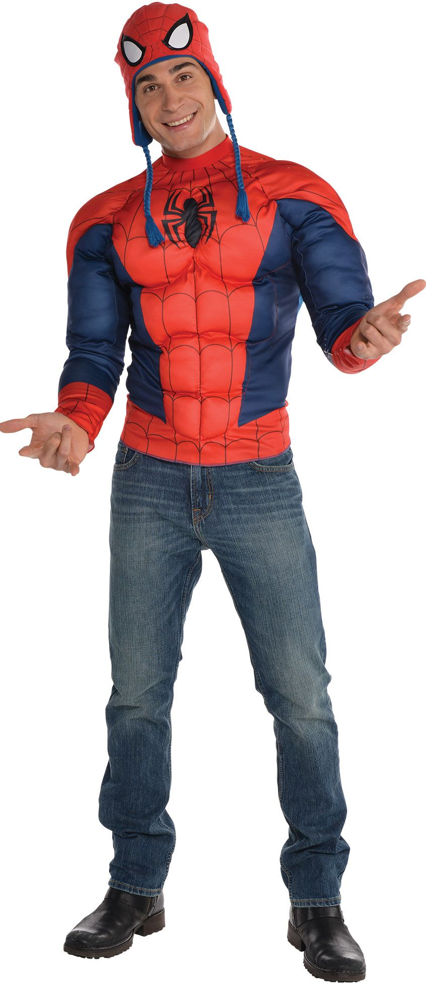 Create Your Look - Male Spiderman