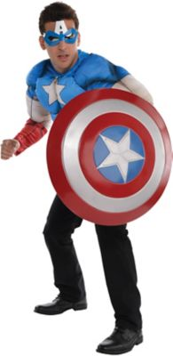 Create Your Own Look - Menu0027s Captain America #1  sc 1 st  Party City & Create Your Own Menu0027s Captain America Costume Accessories | Party City