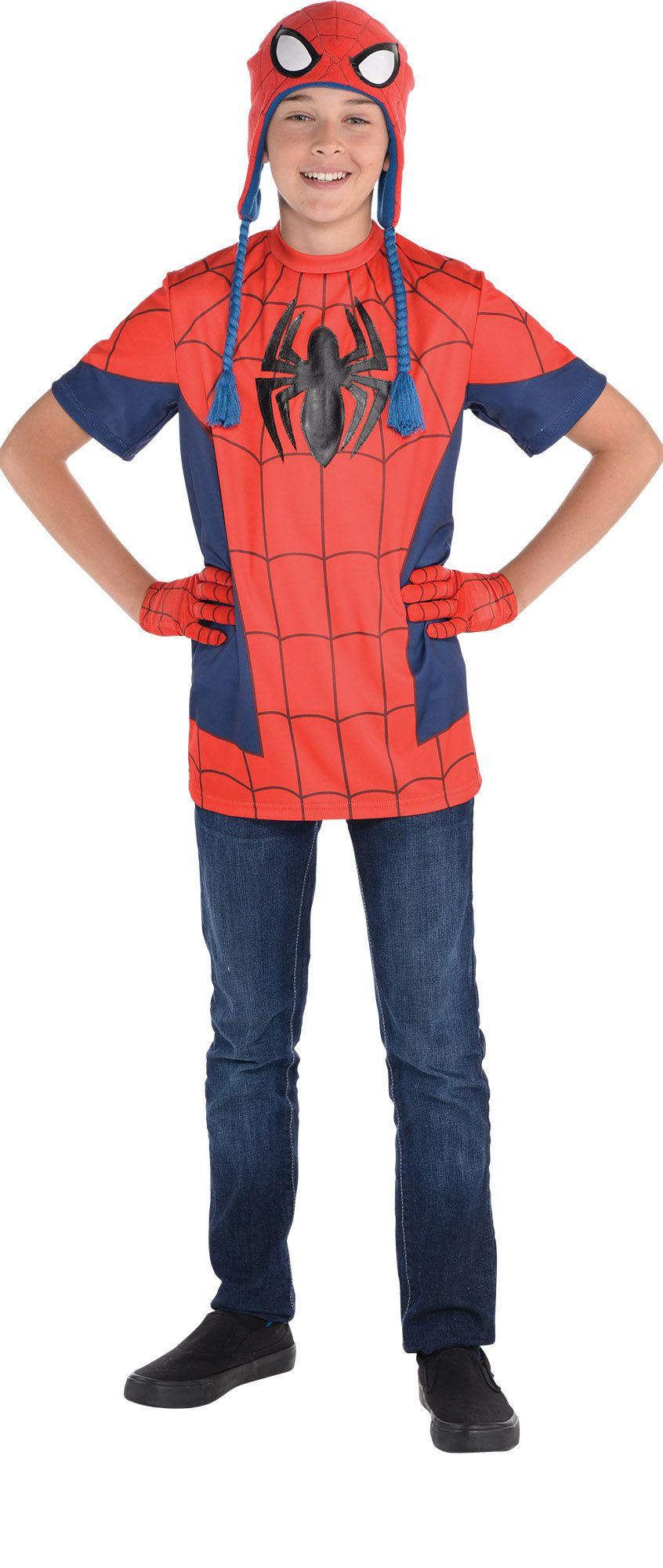 Create Your Look - Boy Spiderman