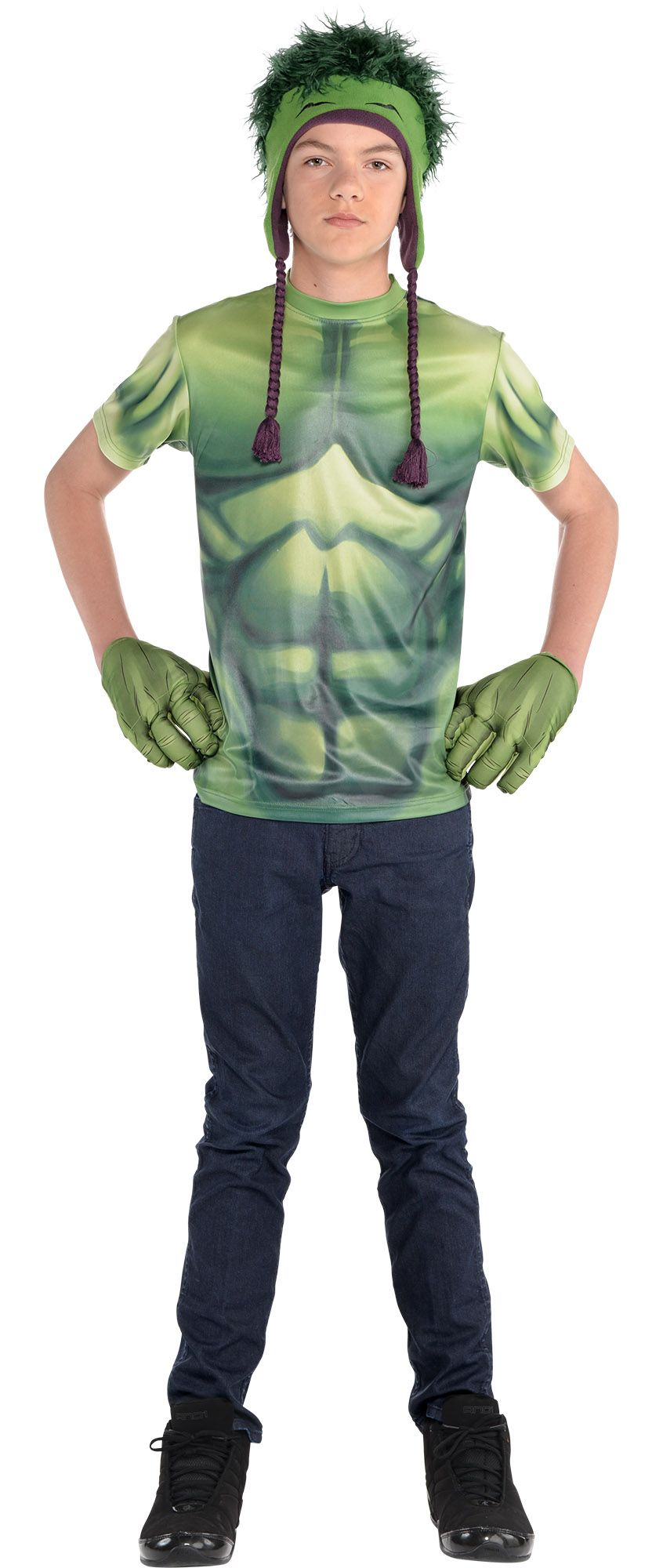 Create Your Look - Boy Hulk