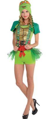Womenu0027s TMNT  sc 1 st  Party City & Create Your Own Womenu0027s Teenage Mutant Ninja Turtles Costume ...