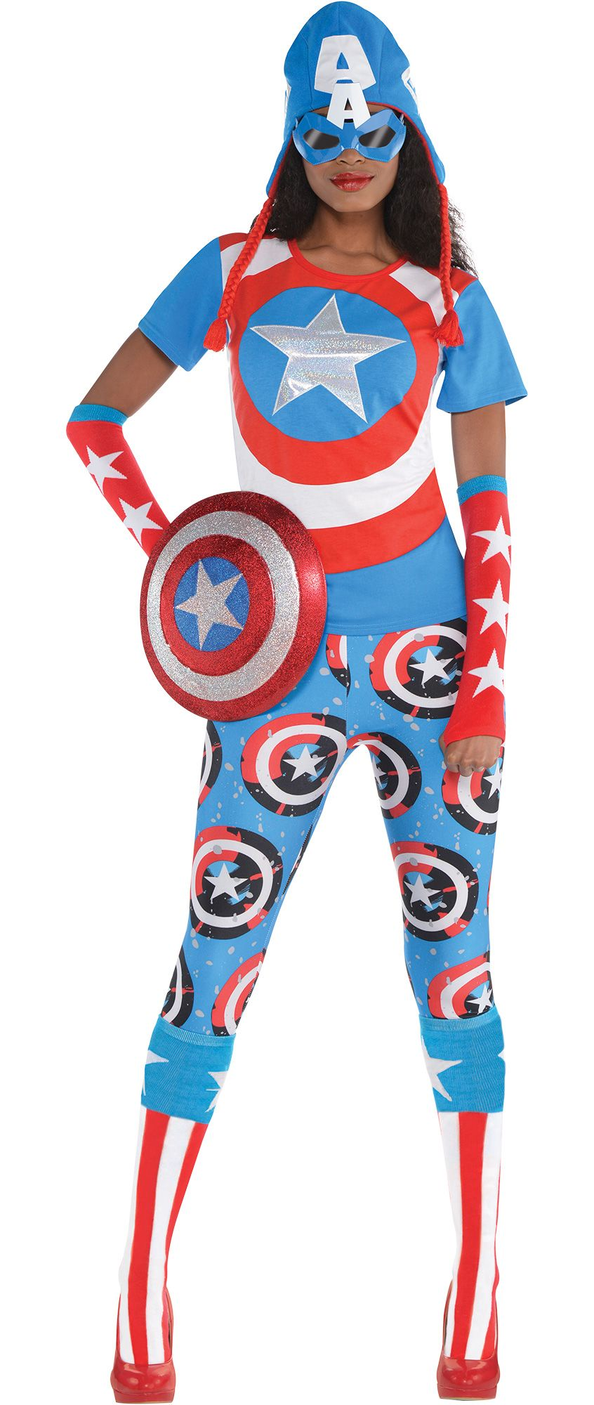 Create Your Own Look - Women's Captain America
