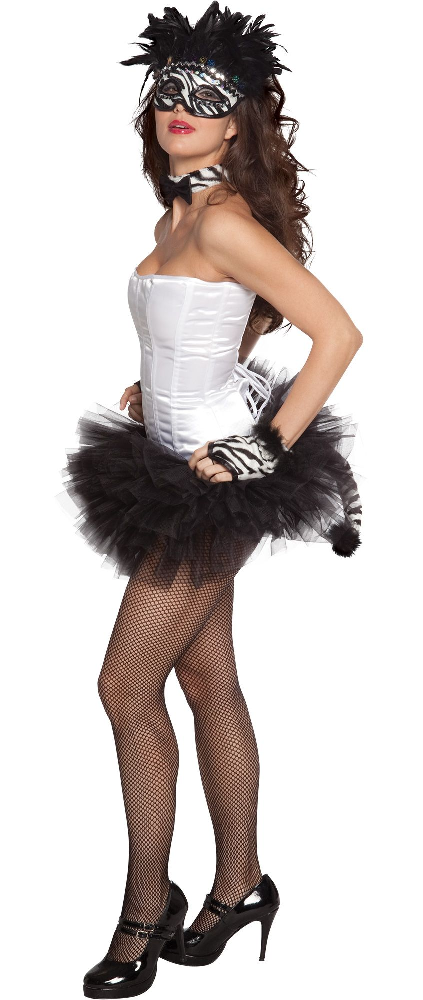 Make Your Costume - Womens Zebra Cutie Costume #2