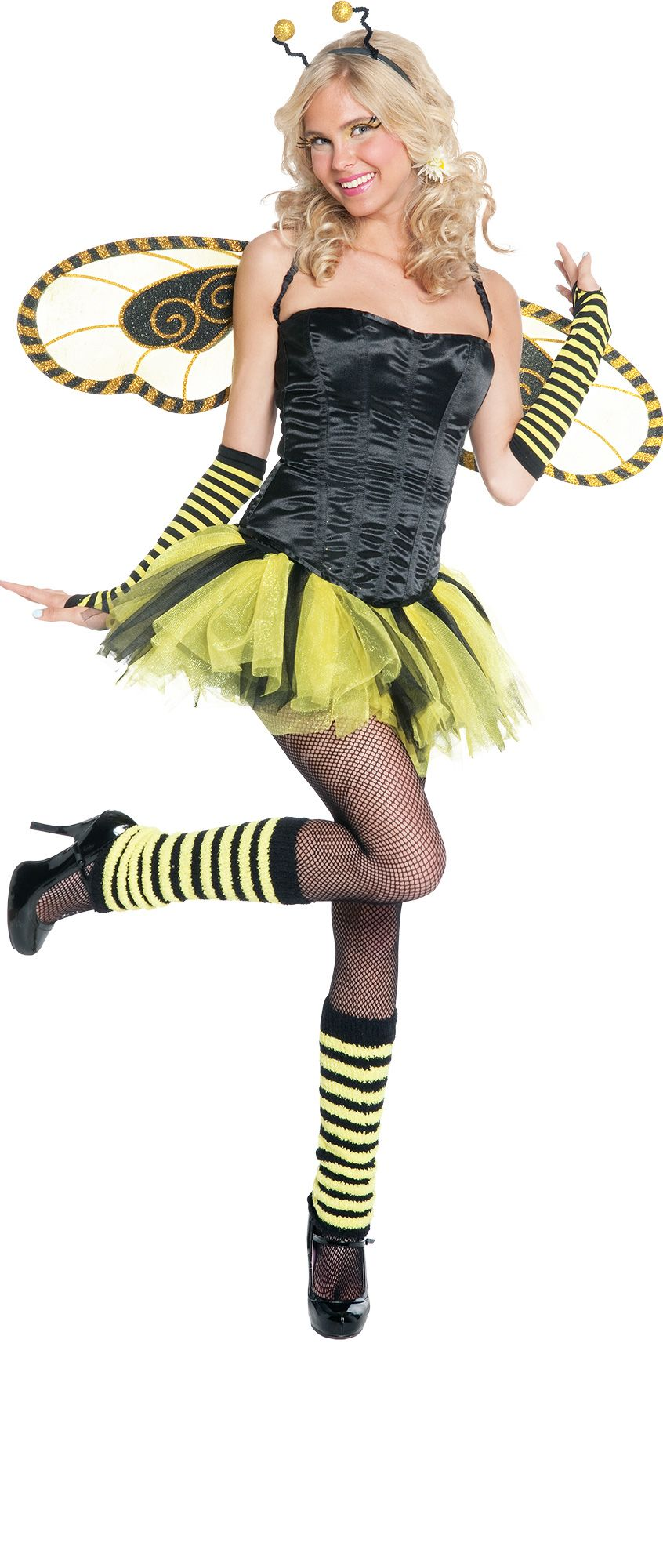 Make Your Costume - Womens Honey Bee Costume