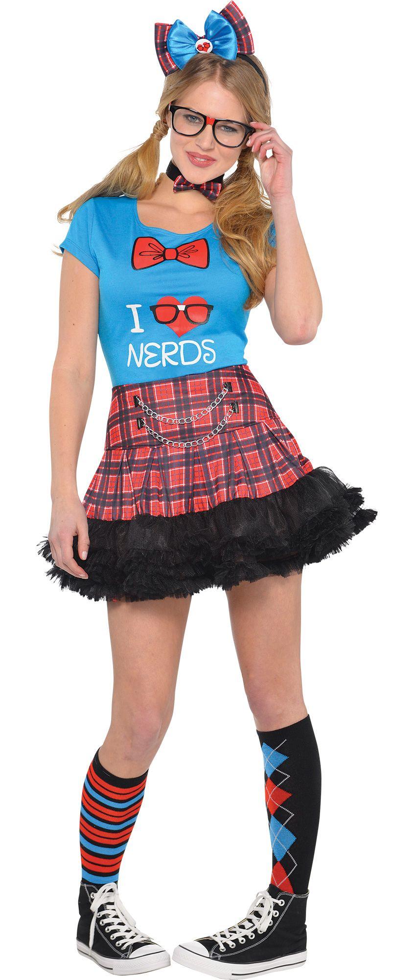 Make Your Costume - Womens Nerd