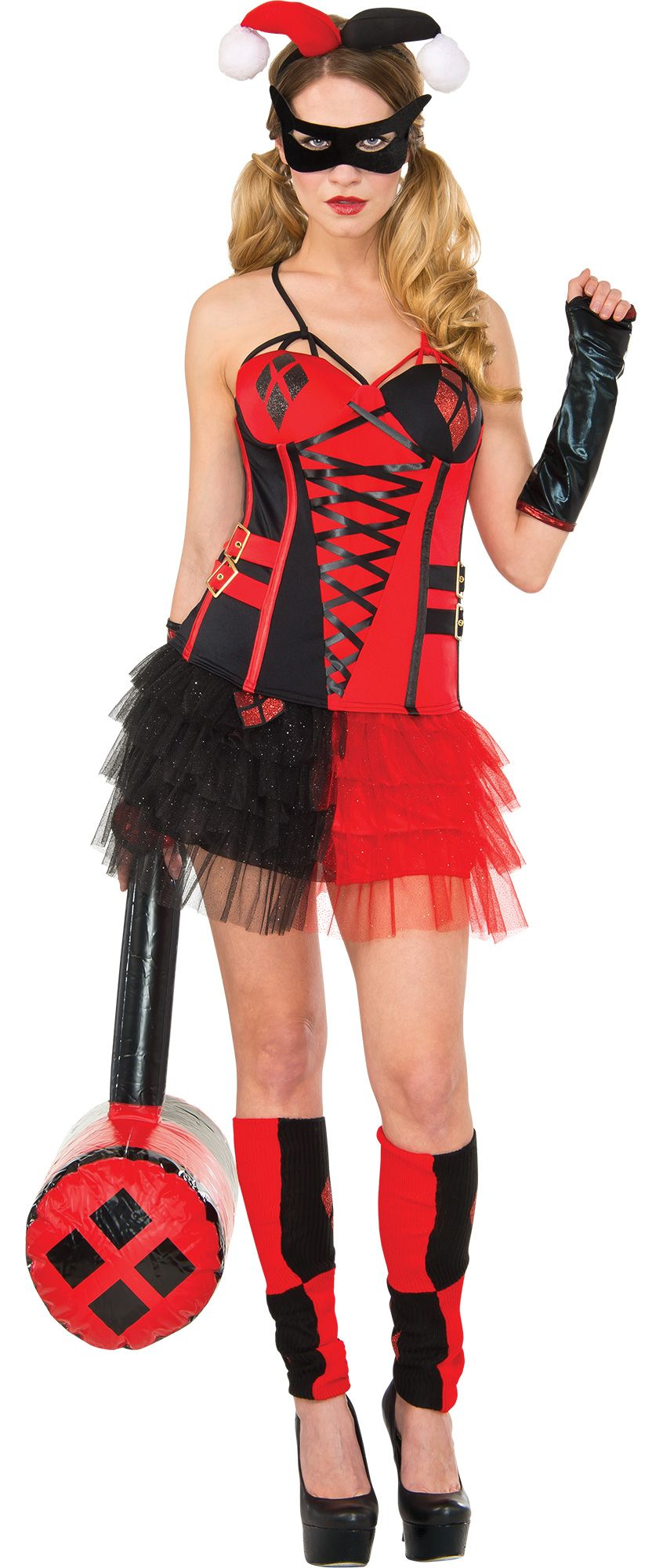 make your costume womens harley quinn 1