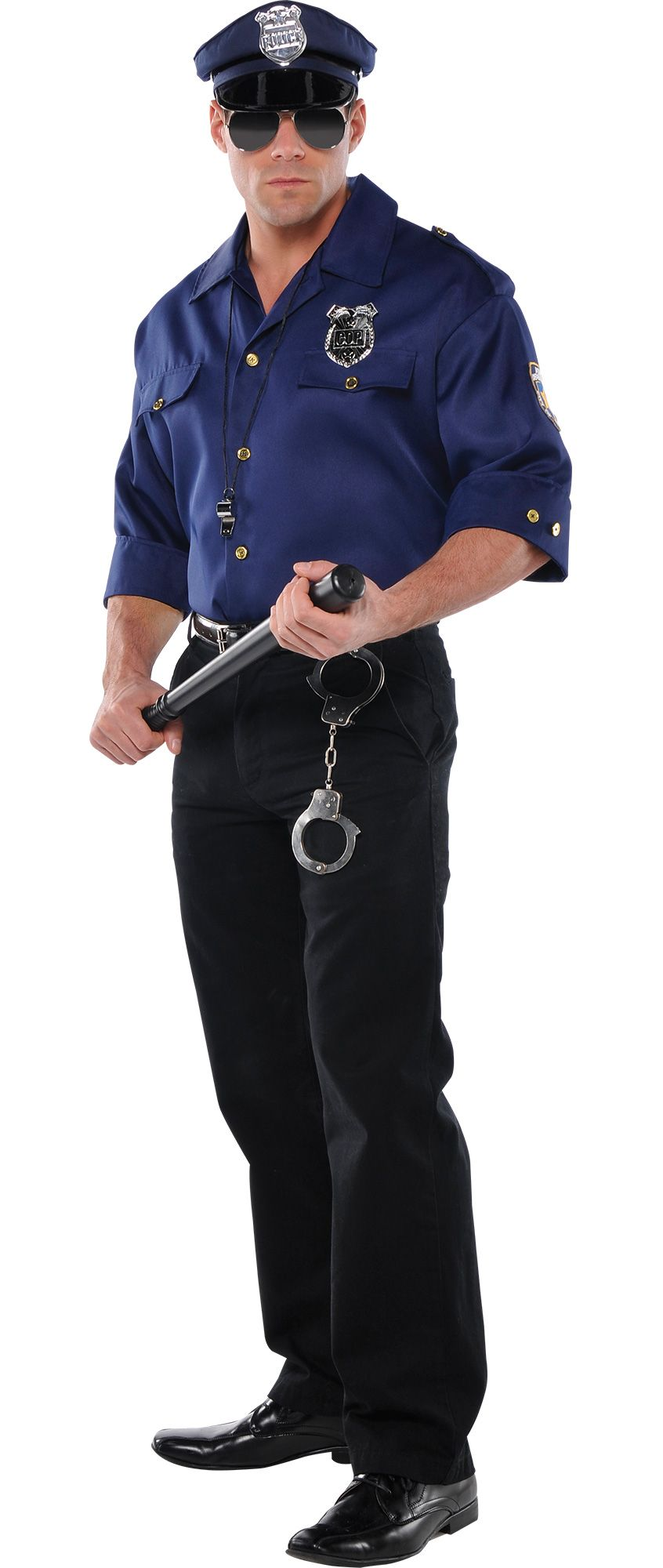 Make Your Costume - Mens Cop