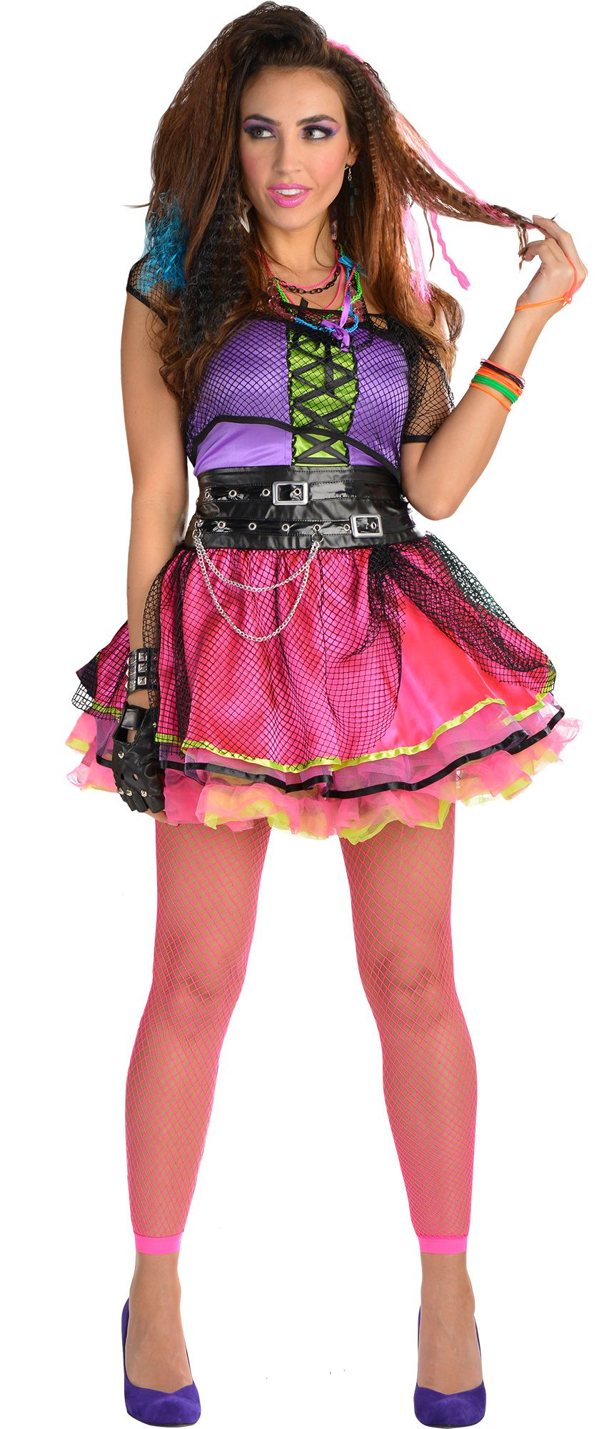 Women\'s 80s Pop Star Costume Accessories | Party City Canada