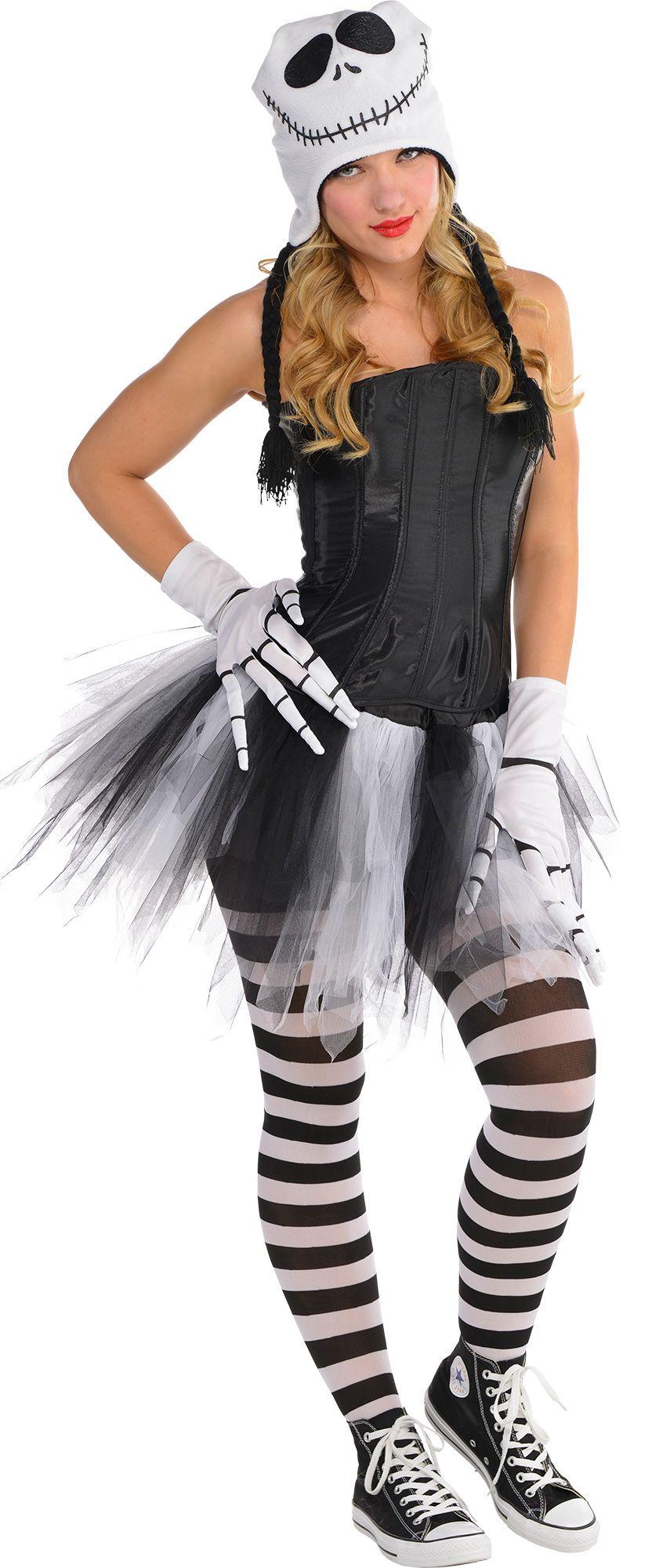 Make Your Costume - Womens Sassy Jack Skellington