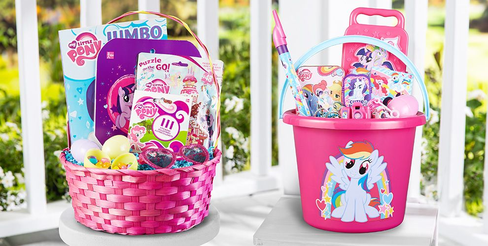 Build Your Own My Little Pony Easter Basket