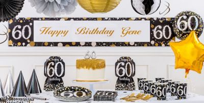 Sparkling Celebration 60th Birthday Party Supplies Party City