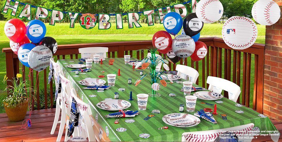 MLB Rawlings Baseball Party Supplies