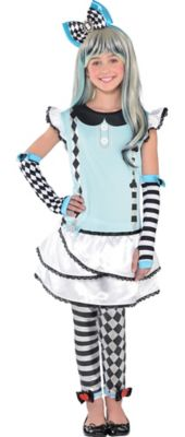 Girls Alice in Wonderland Accessories Party City