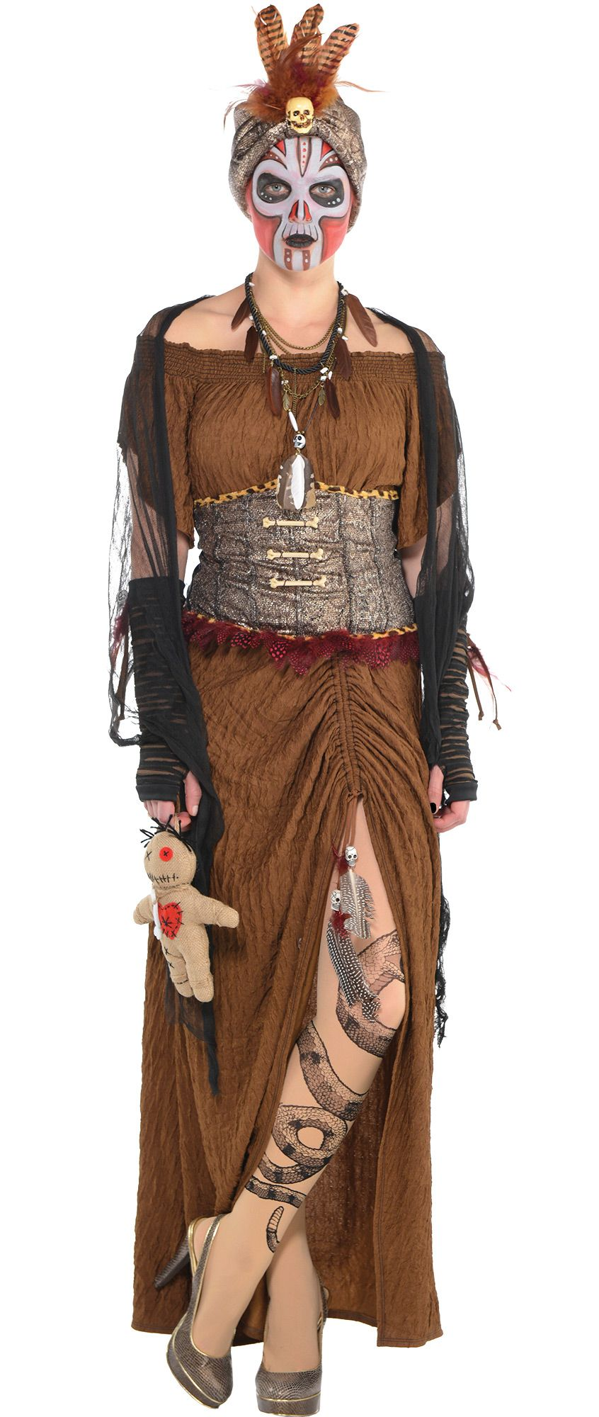 Create Your Own Look - Women's Witch Doctor