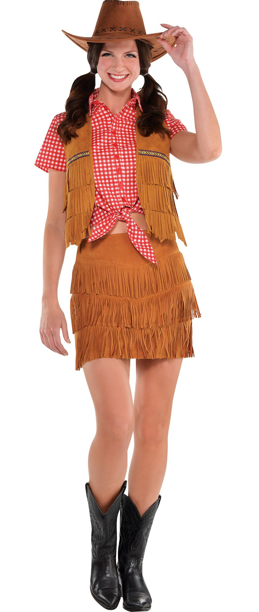 Create Your Look - Women's Fringe Cowgirl