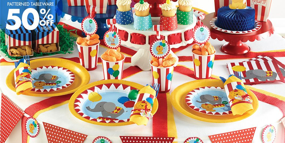 Carnival Party Supplies