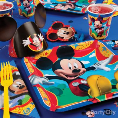 Mickey Mouse Place Setting Idea Party City Party City