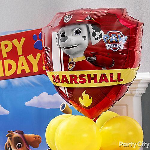 PAW Patrol Character Balloon Idea