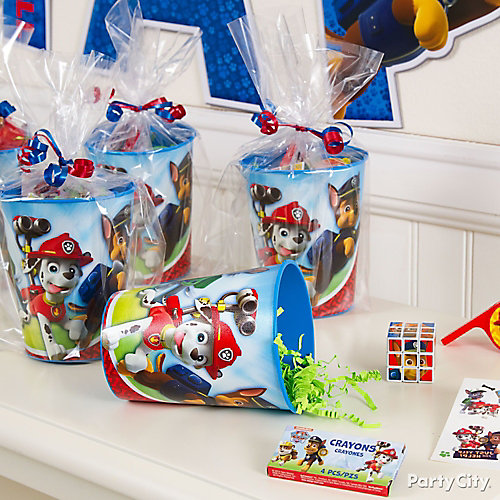 PAW Patrol Favor Cup Idea