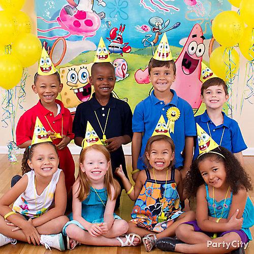 SpongeBob Photo Booth Idea