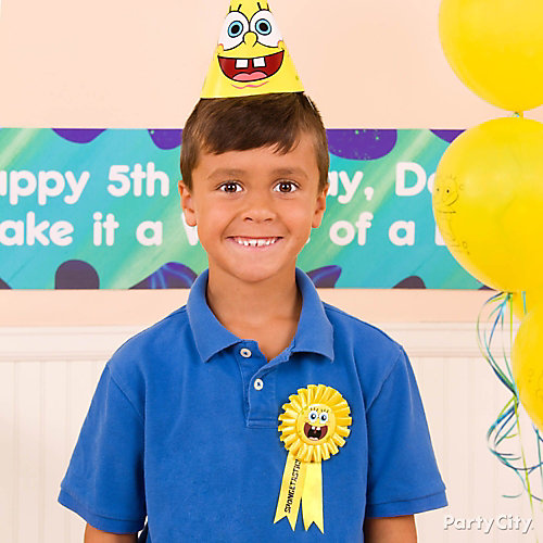 SpongeBob Birthday Outfit Idea