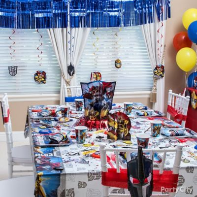 Transformers Party Table idea Decorating Ideas Transformers