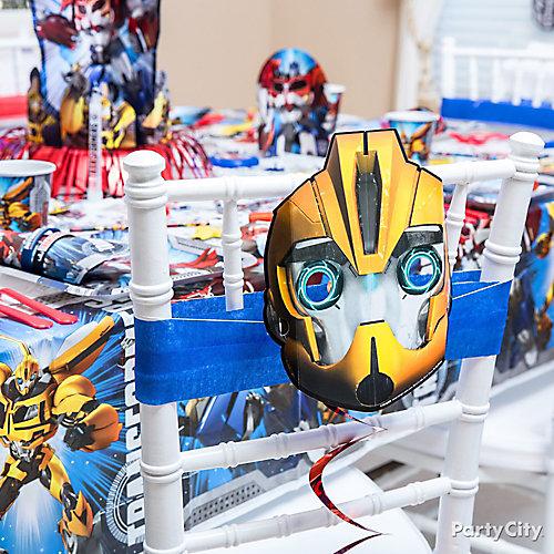 Transformers Chair Deco DIY