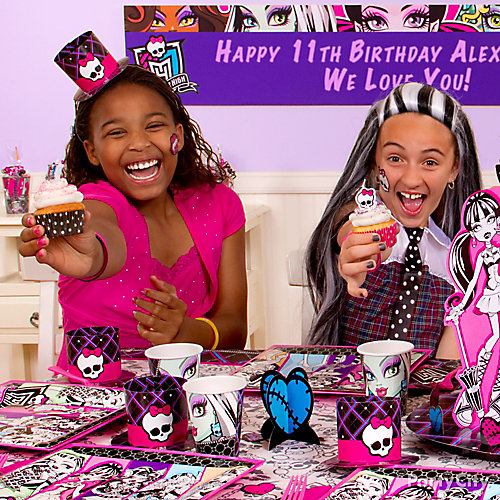 Monster High Cupcake Idea