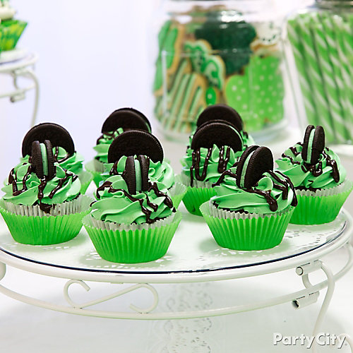 Mint Chocolate Cupcakes How To