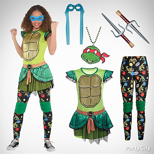 Girls' TMNT Costume Idea