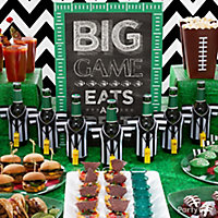 sports party ideascatch our super ideas for food decorating and drinks - Halloween City Corporate Phone Number
