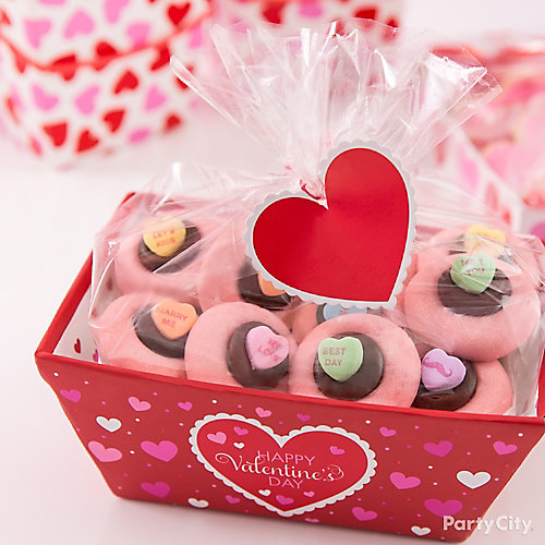 Candy Heart Cookie Box Idea