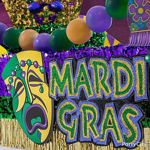 Mardi Gras Signs Idea