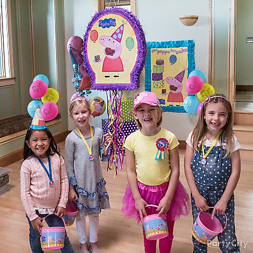 Peppa Pig Pinata Game Idea