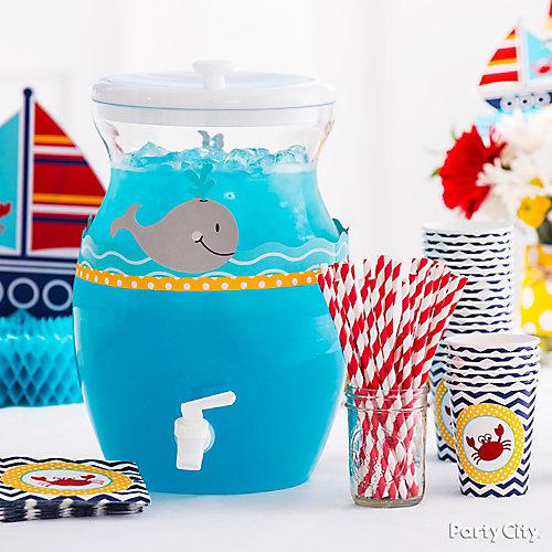 Ocean Water Drink Idea