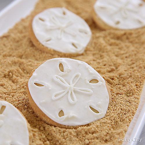 Sand Dollar Cookies Idea