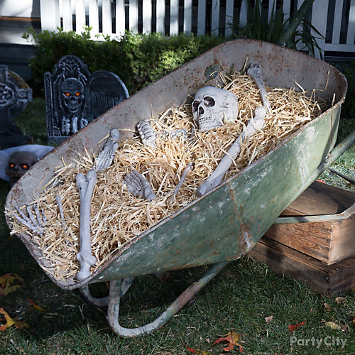 Wheelbarrow of Bones Idea