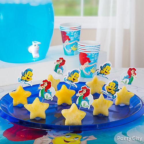 Little Mermaid Starfish Fruit Idea