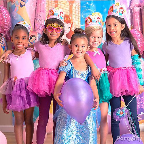 Disney Princess Dress Up Idea