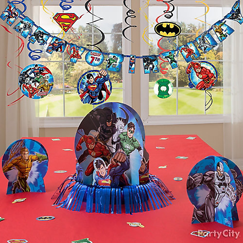 Justice League Essential Decorations Idea