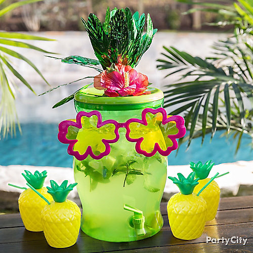 Tropical Drink Dispenser Idea