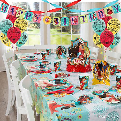 Elena of Avalor Party Table Idea