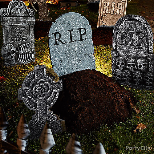 Freshly Dug Grave Idea