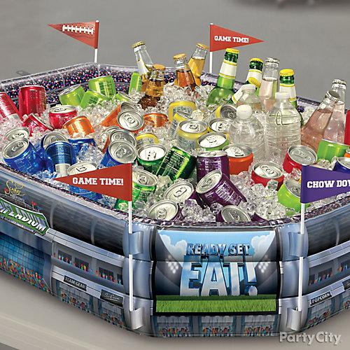 Infladium Drink Cooler Idea