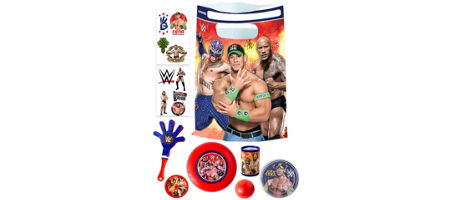 WWE Basic Favor Kit For 8 Guests