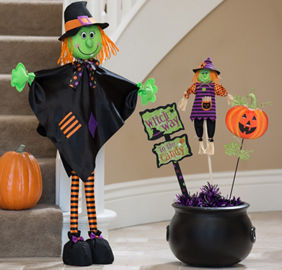 Kid-Friendly Halloween Decorations - Tableware, Decorations & More ...