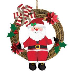 Santa theme party santa claus party supplies party city santa wreath spiritdancerdesigns Image collections