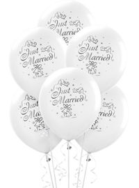 Just married wedding balloons party city wedding balloons 15ct just married junglespirit Gallery